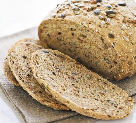 Malted walnut seed loaf ... Top up on essential fatty acids, calcium and iron with this healthy and delicious bread.