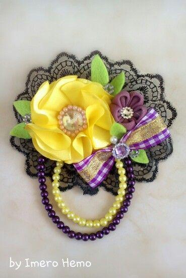 Cute brooch handmade