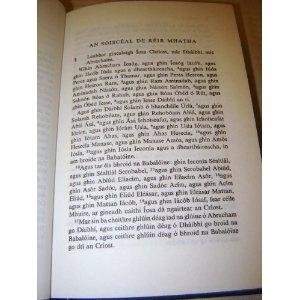 TIOMNA NUA ar dTiarna agus ar Slanaitheora Iosa Chriost / (New Testament in Irish Gaelic) Hibernian Bible Society  $89.99