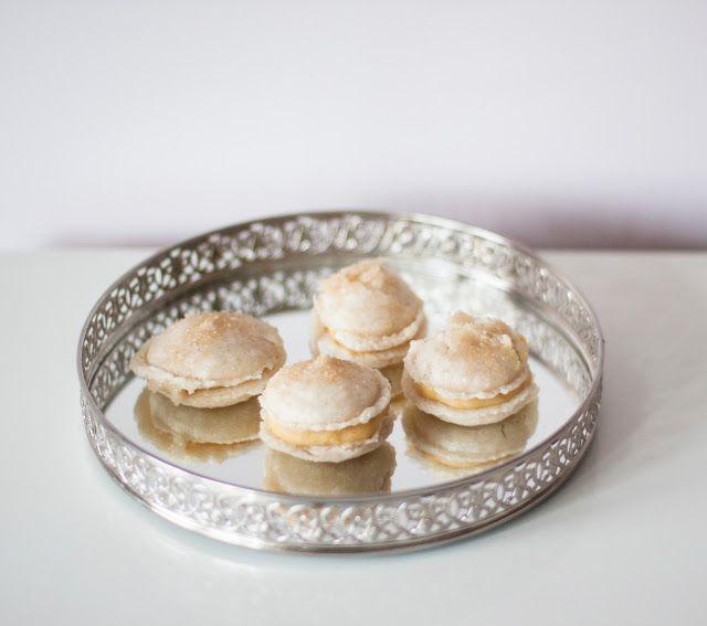 Macarons crème brûlée