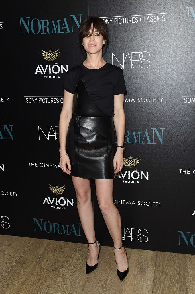 """Actress Charlotte Gainsbourg attends a screening of Sony Pictures Classics' """"Norman"""" hosted by The Cinema Society at the Whitby Hotel on April 12, 2017 in New York City."""