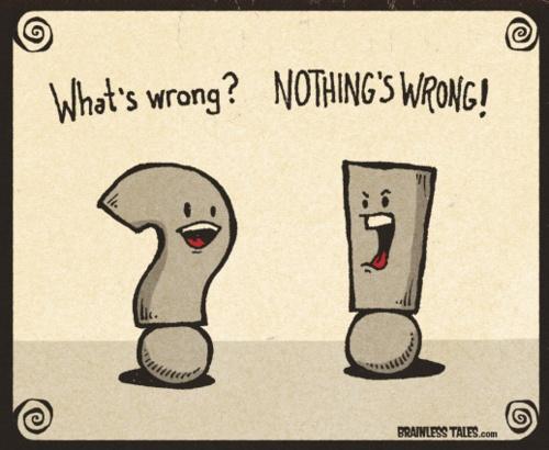 Punctuation humor anyone?