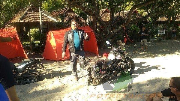 Tips membebaskan Motor kita yang kejebak dalam pasir, saat solo riding / touring !!