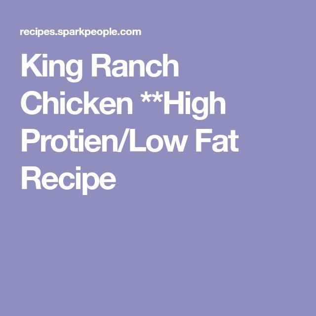 King Ranch Chicken **High Protien/Low Fat Recipe