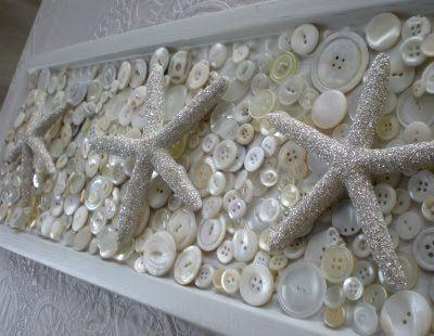 Glitter covered starfishes, will make some great wall decor!: Stars Decor, Sea Stars, Beaches Crafts, Crafts Ideas, Beaches House, Glitter Crafts, Cool Ideas, Sparkle Glitter, Beaches Decor