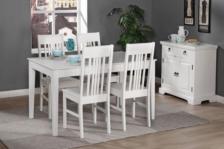 IIRIS-ruokailuryhmä (pöytä 130x80cm+4 tuolia)