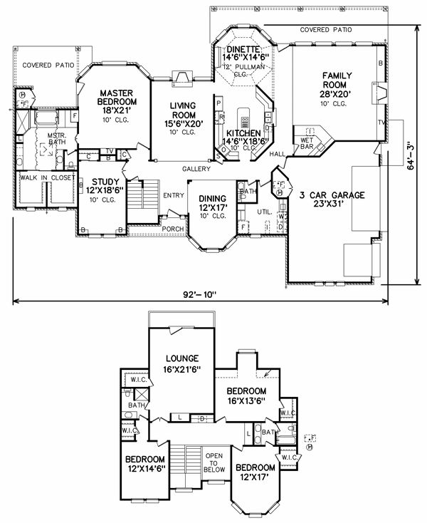 pretty design plan for house. 144 best house plans images on Pinterest  Dream House blueprints and Floor