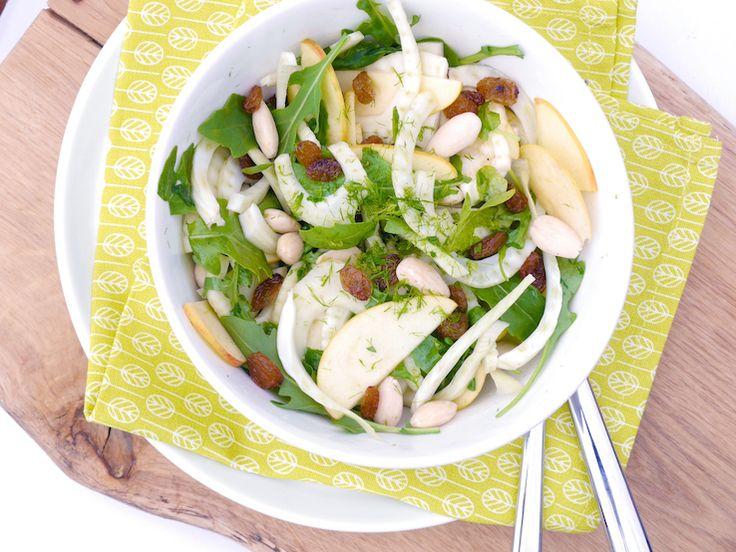 Venkelsalade met appel – SKINNY SIX | Chickslovefood.com | Bloglovin'