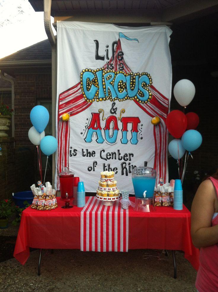 AOII- bid day party theme 2013 at EKU