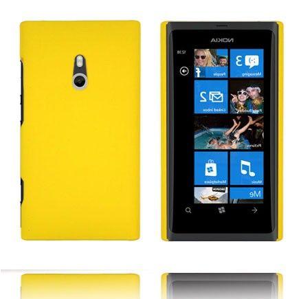 Hard Shell (Gul) Nokia Lumia 800 Deksel