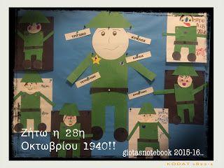 Το ημερολόγιο της Γιώτας: Μαθαίνουμε τα σχήματα με τον στρατιώτη του 1940..
