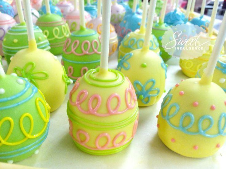 Wiosenne Wielkanocne ciasteczkowe lizaki