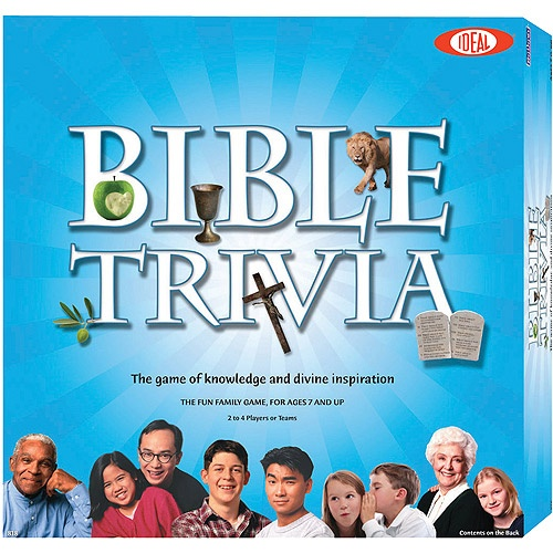 Ideal Classics Bible Trivia Game, Bible Trivia for Kids, Bible Trivia Questions, Fun Board Games, Children Bible Trivia