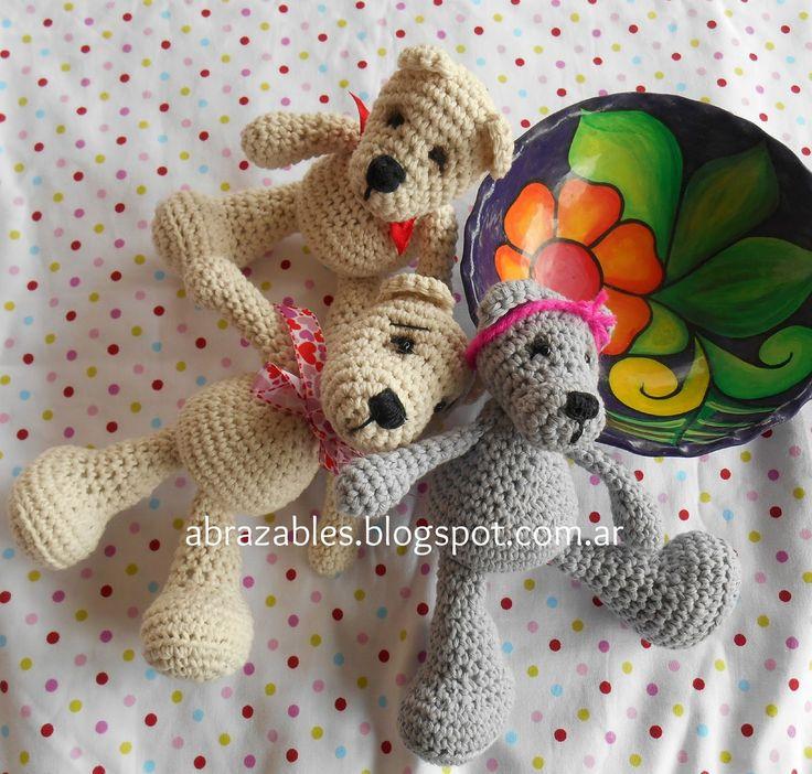 Mini Teddy Bear Ositos - Patrón Gratis en Español aquí: http://abrazables.blogspot.de/2014/09/mini-teddy-bear.html