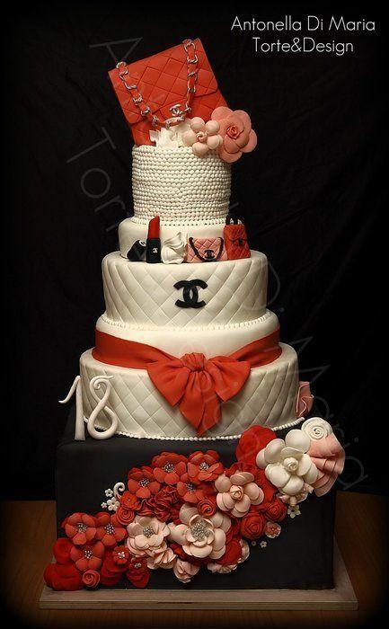 CC Fashion Cake - by antonelladimaria @ CakesDecor.com - cake decorating website