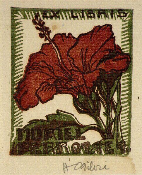 helen ogilvie artist | Helen Ogilvie not titled [Hibiscus flower]. c.1944 Melbourne, Victoria ...