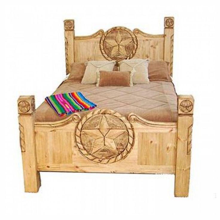 Texas Star Rustic Bedroom Furniture. rustic pine texas lone star 5 ...