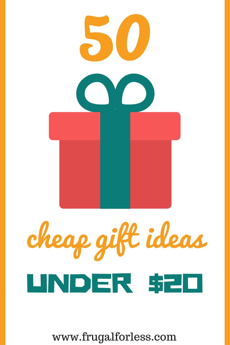 Looking for cheap gift ideas? Read on for 50 cheap gifts that you can all buy for under $20. These are great gifts for friends, gifts for boyfriend and gift ideas for anyone, especially when buying gifts for the holidays. While these gifts are on the frug