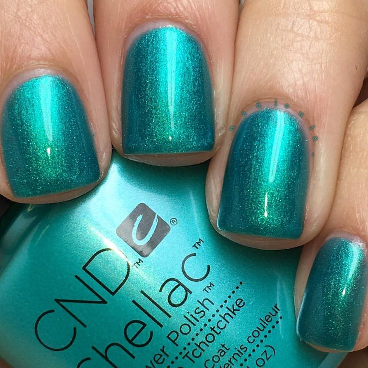 "Nadia on Instagram: ""@cndworld Shellac Hotski to Tchotchke. I used CND Base Coat, 3 thin coats of Shellac Hotski to Tchotchke, and topped off with CND Shellac Xpress5 Top Coat. Cured in the CND LED Lamp."""
