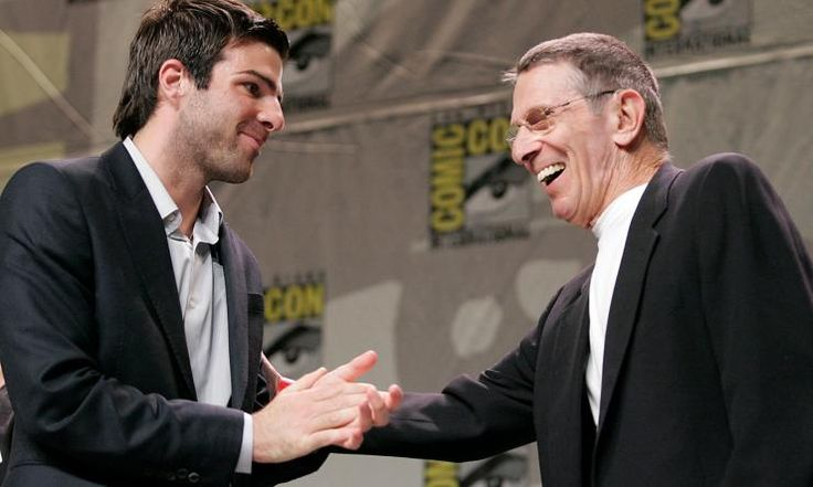 Zachary Quinto, John de Lancie, and others give touching tribute to Leonard Nimoy
