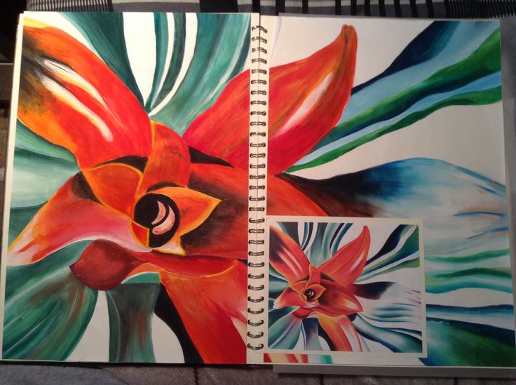 GCSE Sketchbook by Noah Walton