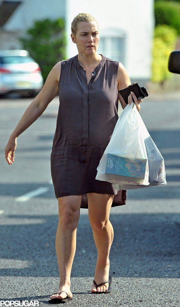 Kate Winslet Shopping While Pregnant | Pictures | POPSUGAR Celebrity