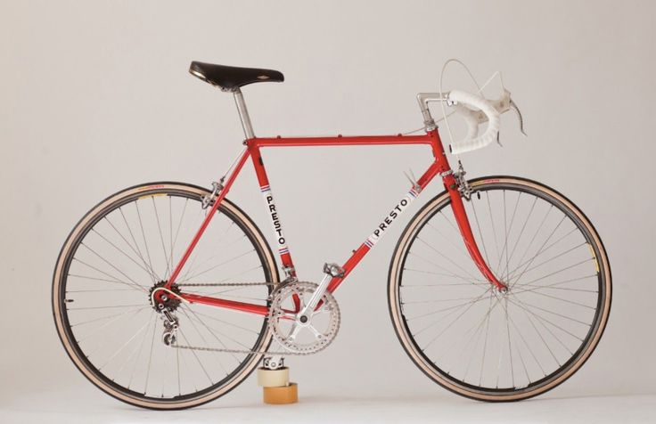 While in Amsterdam in 1971 I wandered into the Presto shop which was my first visit to a custom frame shop. Up until that point I had been riding bikes from the big names and watching the builder there assemble a frame opened my eyes to the possibilities a custom frame offered.