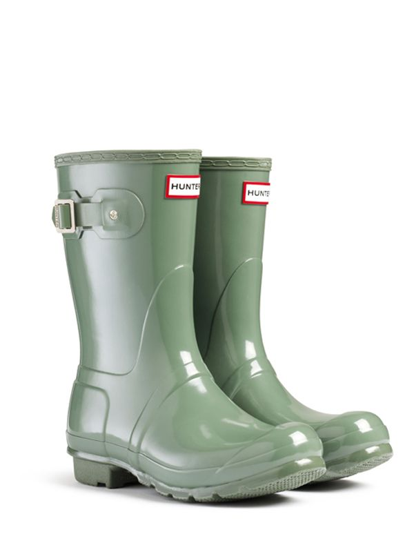 Gloss Rain Boots | Original Short Gloss Rain Boots | Hunter Boot