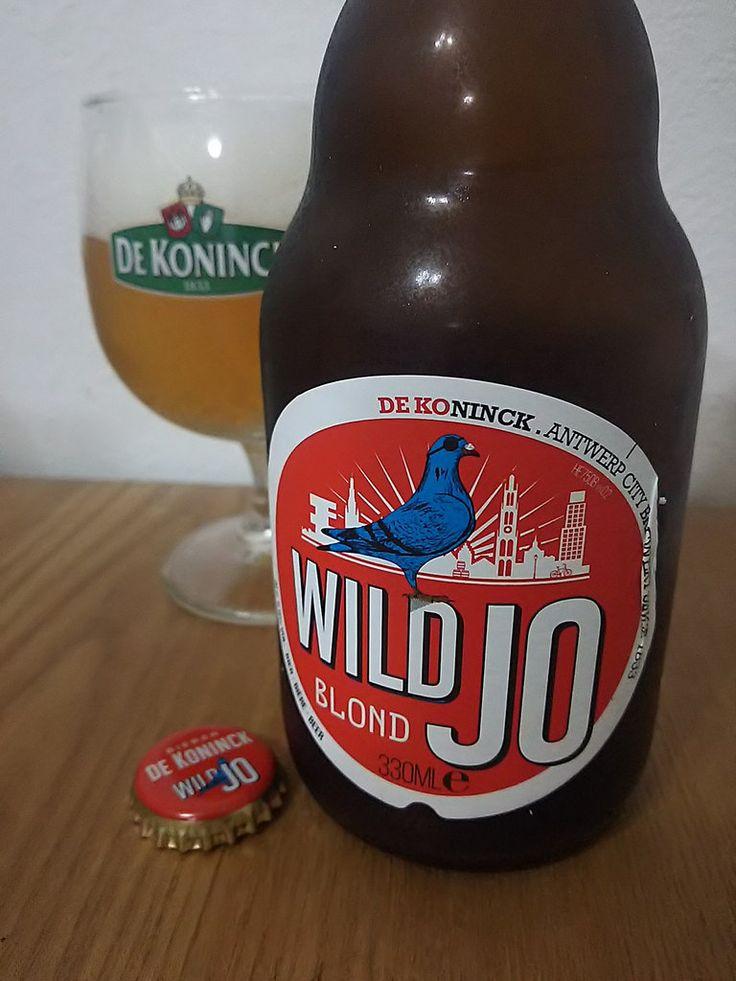 Wild Jo Wild Jo e33cl Alc.58%Vol. Brouwerij De Koninck Mechelsesteenweg 291 B-2018 Antwerpen www.dekoninck.be