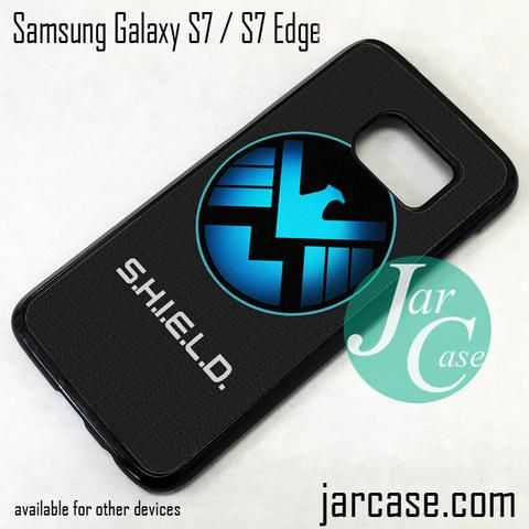 Agent Shield Phone Case for Samsung Galaxy S7 & S7 Edge