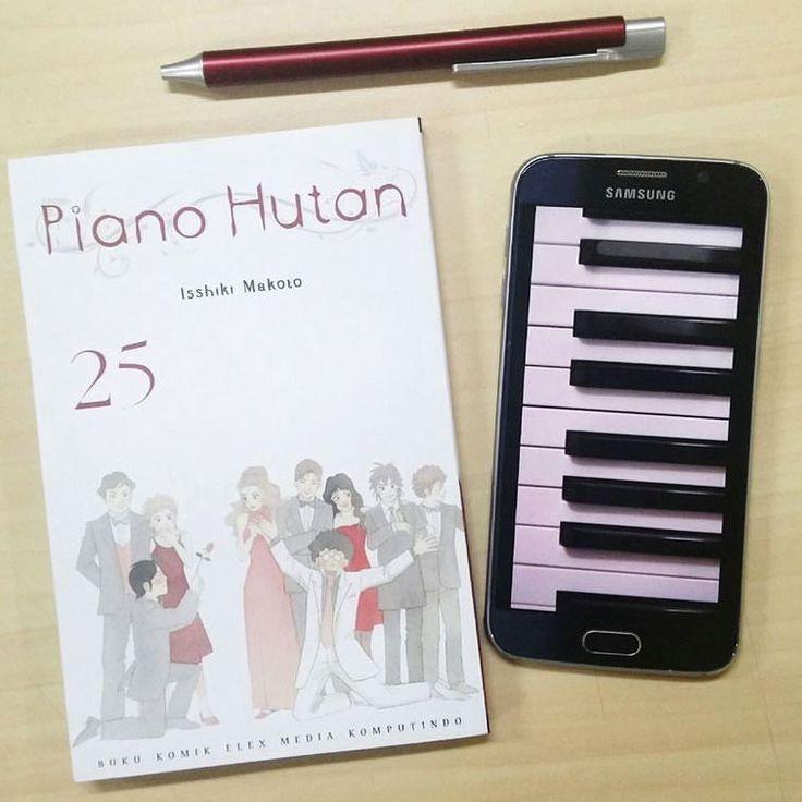 Jilid di mana pemenang Kontes Chopin diumumkan! Akhir dari perjuangan panjang Kai dan Ajino  . Tapi ini bukan vol. terakhir ya! Masih ada 1 volume lg yg akan terbit setelah ini  .  #PianoHutan25 beredar 13 April '16