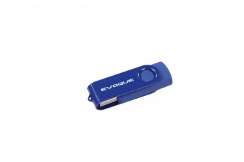 This 2GB stylish USB is made from a combination of steel and metal with a handy swivel function. It is designed with the chic Evoque driver in mind.