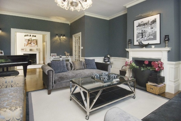 Really rather like this grey living room