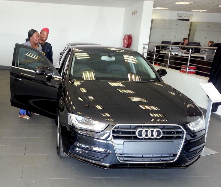 Pre Owned Audis: Congratulations Mr. Ezekiel Mqsete