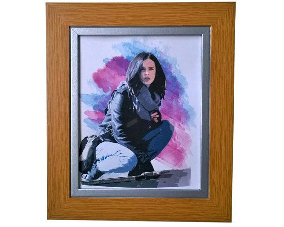 Jessica Jones Print. INSTANT DOWNLOAD TV Show Poster Digital