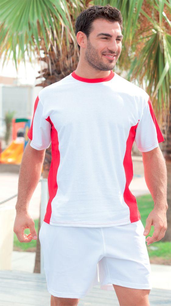 T-shirt girocollo bicolore cotone 100% 160 gr. personalizzabile! http://www.ibiscusgadget.it/prodotto/grosseto/