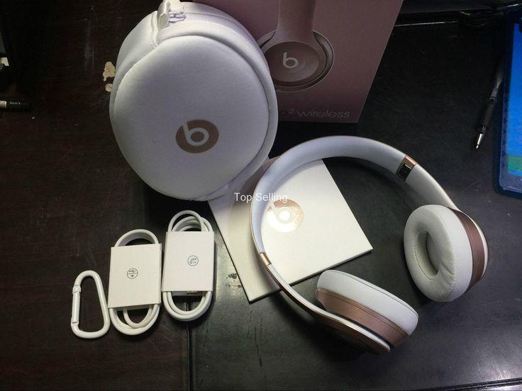 #BeatsSolo2 Wireless Headphones : Bluetooth (Gold) Now £169.95, Save £80, Shop Now: https://goo.gl/nuoEM6