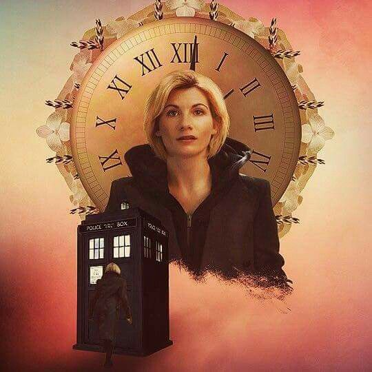 The 13th doctor. This picture is beautiful.