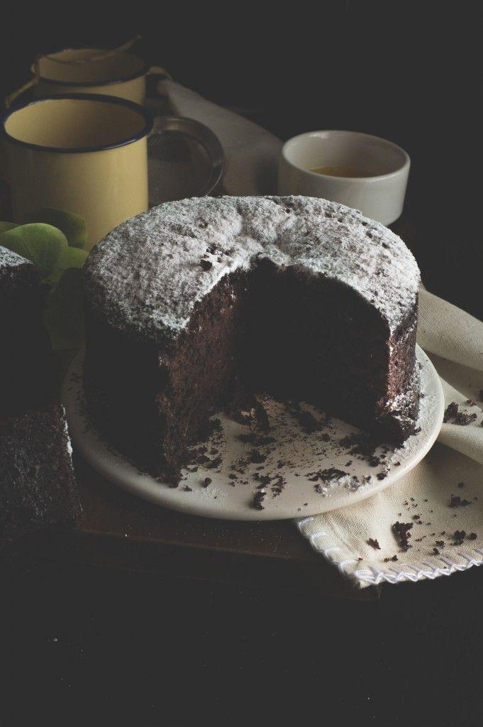 Torta integrale cioccolato, senza burro e senza uova_21