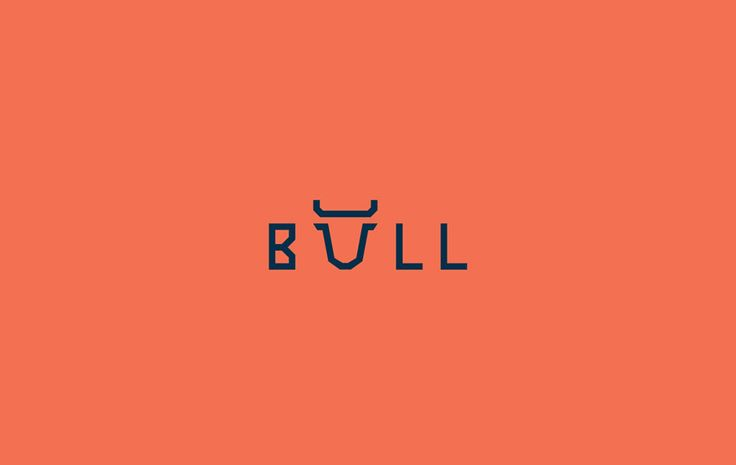 "Indian graphic designer Shibu PG uses a subtle touch to add animal features to words. He modifies just one letter to add the defining characteristic; for example, the letter ""u"" in the word ""bull"" has horns."