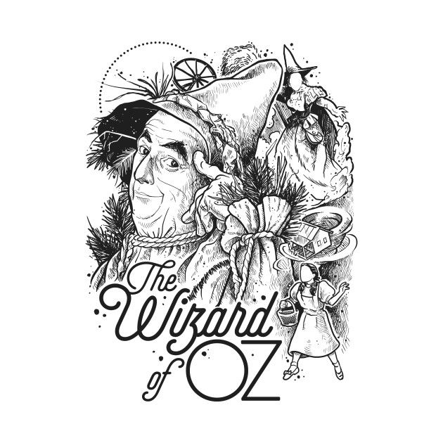 Check Out This Awesome Wizard Of Oz Design On Teepublic Zauberer Von Oz Oz Tattoo
