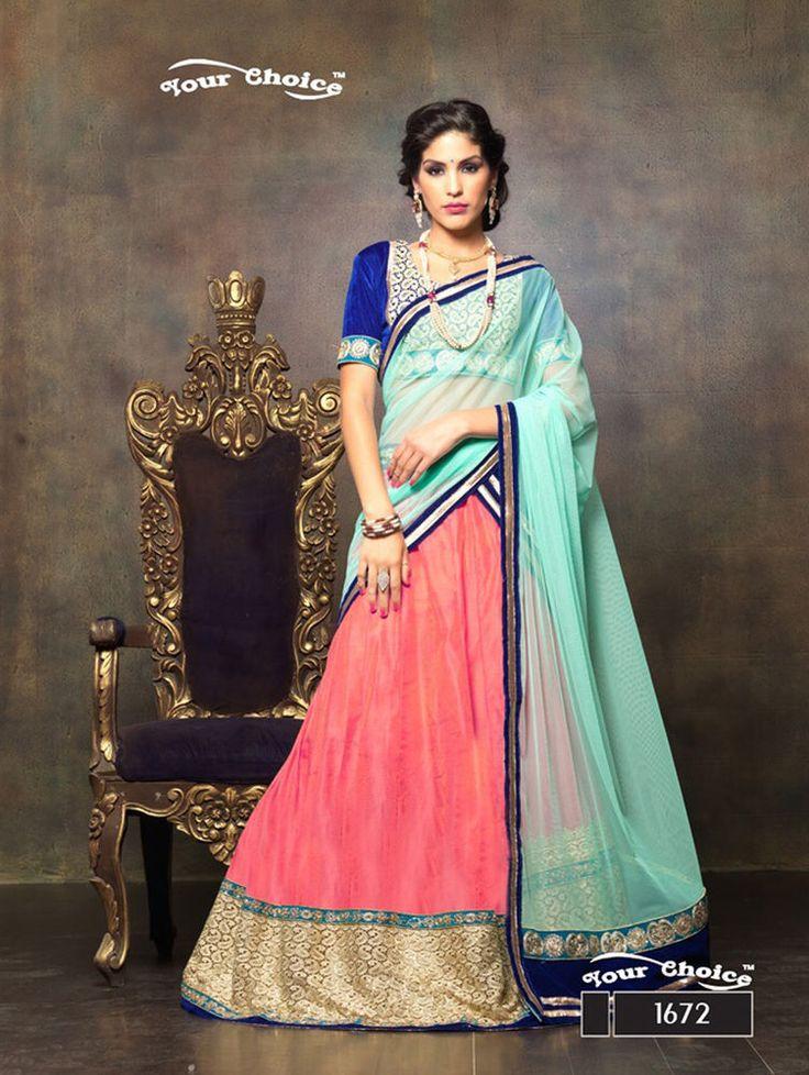 Pakistani Lehenga Wedding Ethnic Choli wear Bridal Indian Traditional Bollywood #Kriyacreation #Traditional