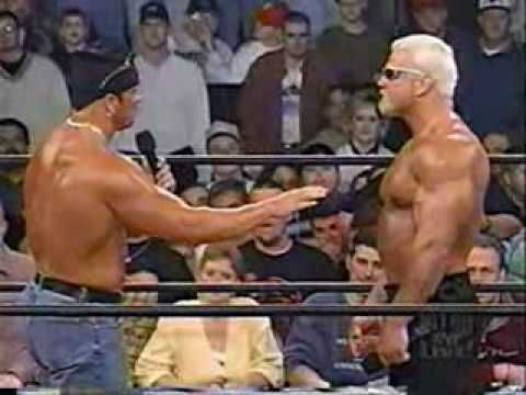 Scott Steiner Kicks Buff Bagwell Out The NWO-Steiner got one thing right, Buff didn't belong anymore. He had finally gotten back into shape and didn't need NWO anymore. And Buff got it right when he said he made Steiner look like a million bucks. That's the only reason I ever watched any of Scott's matches. If it hadn't been for Buff coming out with him I wouldn't have watched.