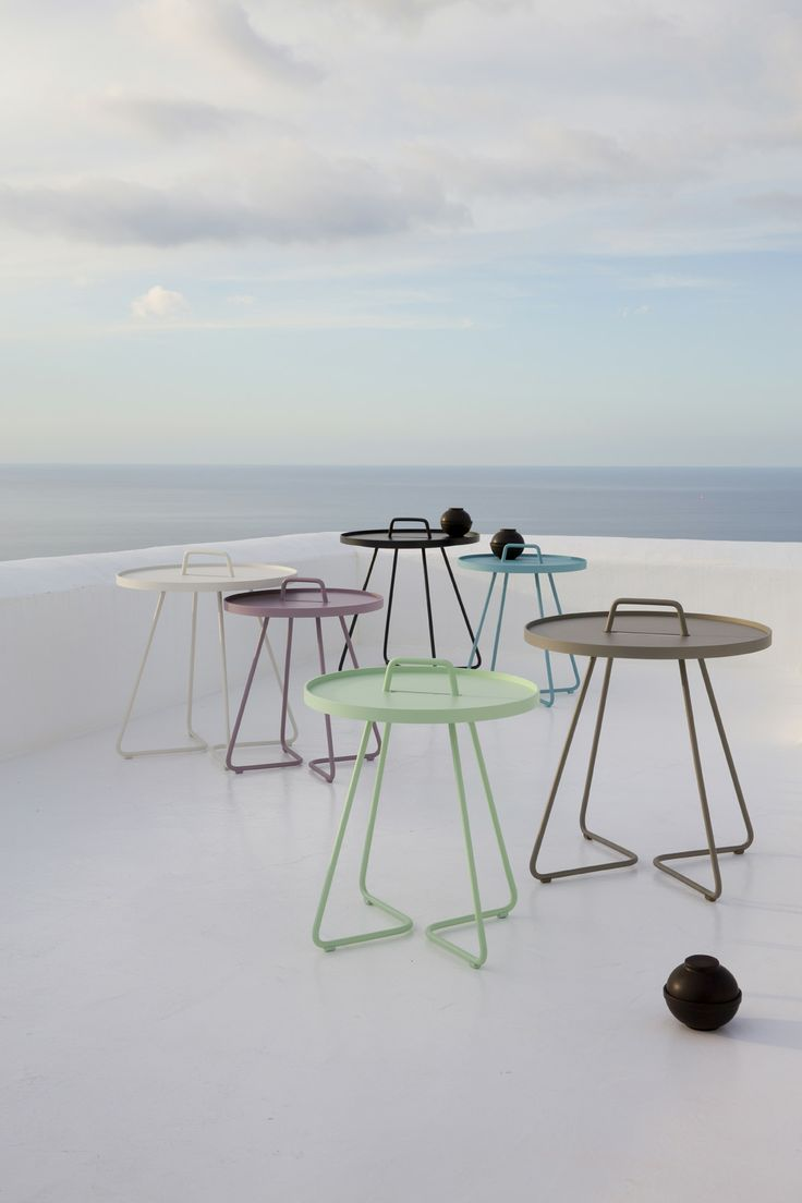 New colours for our On-the-move #Table. #Caneline #Transportable