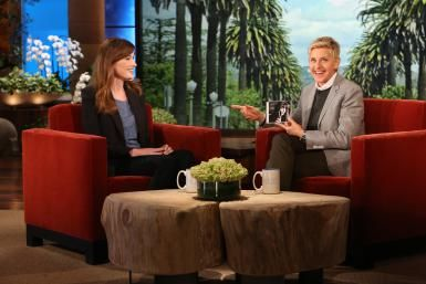 "Want to See ""The Ellen DeGeneres Show"" Live? Here's How: Carla Bruni chats with talk show host Ellen DeGeneres"