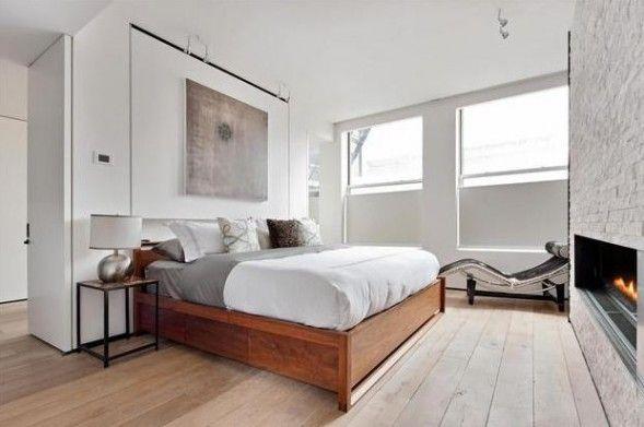 Anderson Cooper's Penthouse - Wood floor