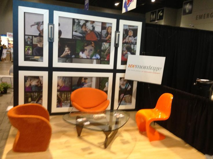 WeMontage Removable Photo Wallpapers Are Great For Trade Show Displays