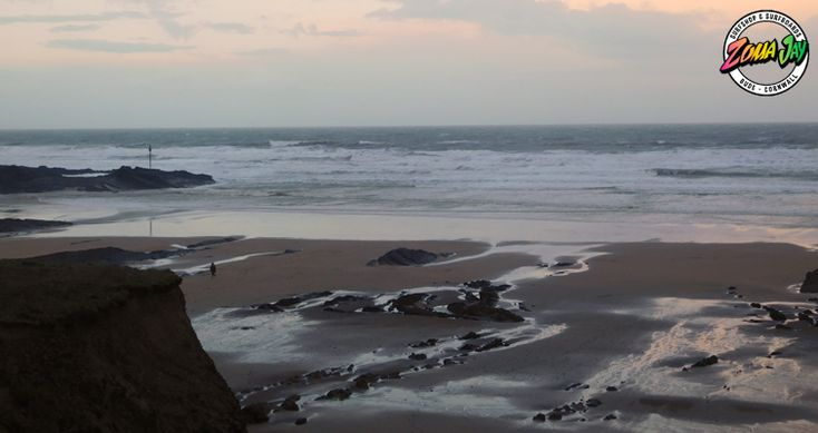 ... and we now have a messy week ahead of us - starting with strong onshore winds and a building swell with 6ft+ this morning  A weather warning for the next few days. It's best not to go in unfortunately!  High Tide (am): 01:30 (6.5m) Low Tide (am): 07:54 High Tide (pm): 14:02 (6.8m) Low Tide (pm): 20:29  For our full daily report and 7 day forecast head to: https://www.zumajay.co.uk/surf-report