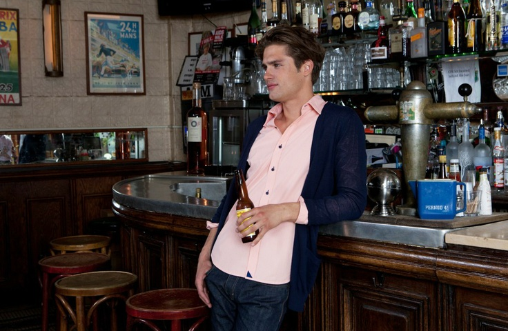 Pink and Navy combo: Men S Fashion, Gentlemen Style