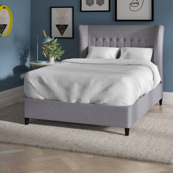 Silke Upholstered Bed Frame Upholstered Bed Frame Upholstered
